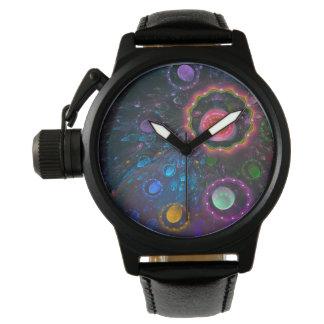 Reloj arte de fractal