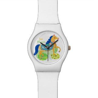 Reloj azul del caballo May28th de la colección de
