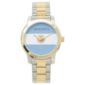 Reloj Bandera de la Argentina
