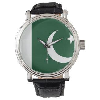 Reloj Bandera de Paquistán