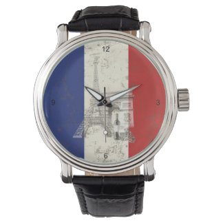 Reloj Bandera y símbolos de Francia ID156