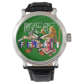 Reloj binomio frexit