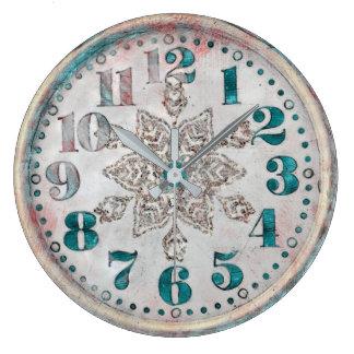 Reloj bonito viejo del vintage antiguo