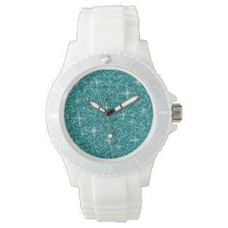 Reloj Brillo iridiscente del trullo