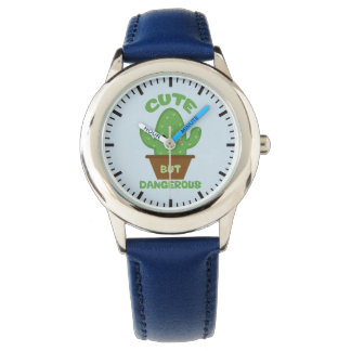 Reloj - Cactus de Kawaii - divertido lindo pero