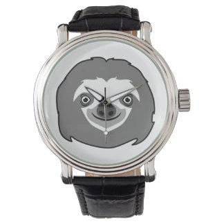 Reloj Cara de la pereza