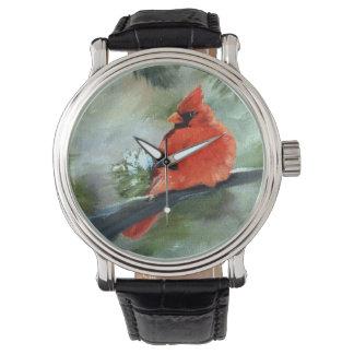 Reloj Cardenal del invierno