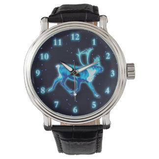 Reloj Caribú azul (reno)