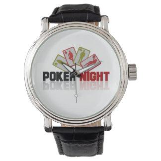 Reloj Casino del póker