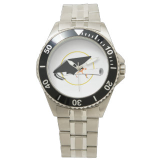 Reloj Casquillo y diploma de la graduación (añada el