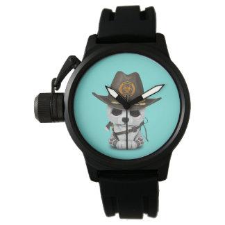 Reloj Cazador del zombi del oso polar del bebé