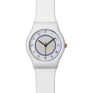 Reloj chino del número