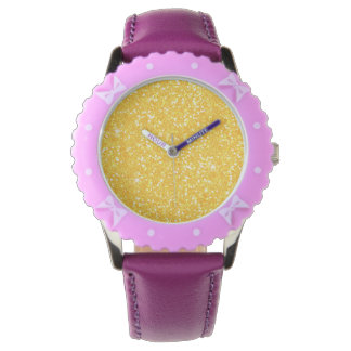 Reloj Chispa brillante del brillo