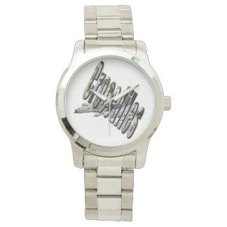 Reloj Cocodrilo y logotipo australianos del cocodrilo,