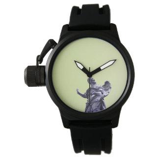 Reloj Coloree el efecto, fotografía simple filtrada,