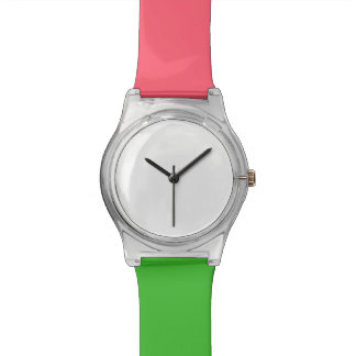 Reloj coralino y verde de May28th