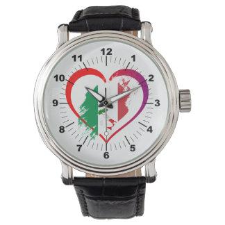 Reloj Corazón de Italia