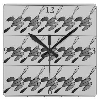 Reloj Cuadrado Reloj corriente del cuadrado del hombre