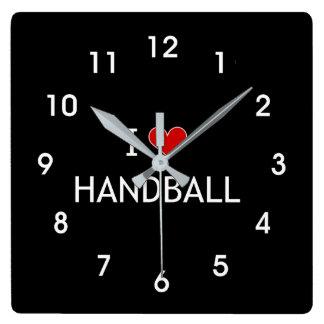 Reloj Cuadrado Amo balonmano