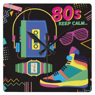 Reloj Cuadrado años 80