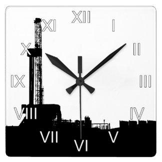 Reloj Cuadrado Aparejo de la perforación petrolífera