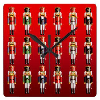 Reloj Cuadrado Ballet del navidad del cascanueces