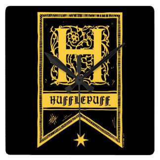 Reloj Cuadrado Bandera del monograma de Harry Potter el |