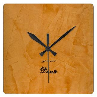 Reloj Cuadrado Dante