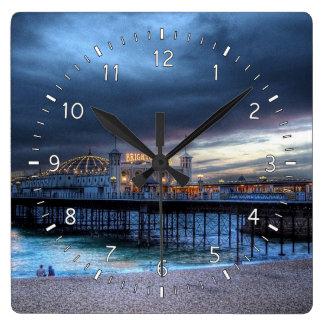 Reloj Cuadrado El embarcadero
