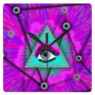 Reloj Cuadrado El ojo de la mente