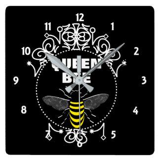 Reloj Cuadrado El vintage lindo inspiró el gráfico femenino de la