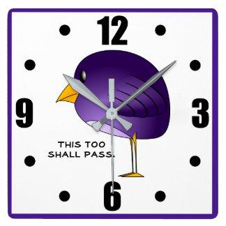 Reloj Cuadrado Esto pasará también