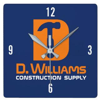 Reloj Cuadrado Fuente de la construcción de D Williams