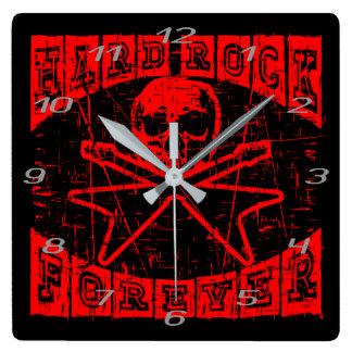 Reloj Cuadrado heavy para siempre