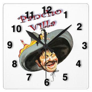 Reloj Cuadrado Héroe Pancho Villa