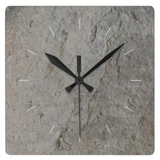 Reloj Cuadrado Imagen natural de la PIEDRA el |