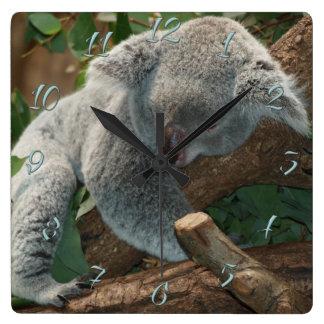 Reloj Cuadrado Koala