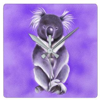 Reloj Cuadrado Koala de Buda