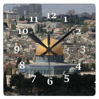 Reloj Cuadrado La bóveda de la roca