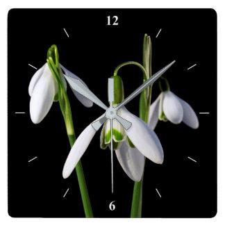 Reloj Cuadrado La primavera salta eterno