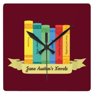 Reloj Cuadrado Las novelas de Jane Austen III