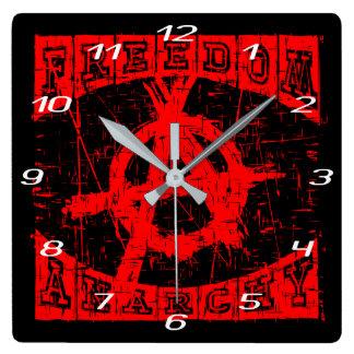 Reloj Cuadrado libertad