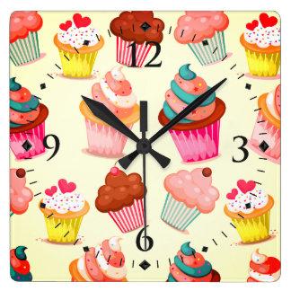 Reloj Cuadrado Magdalenas lindas