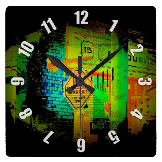 Reloj Cuadrado Mercado de la ciudad - Londres, Inglaterra