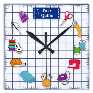 Reloj Cuadrado Modifique el tiempo del edredón para requisitos