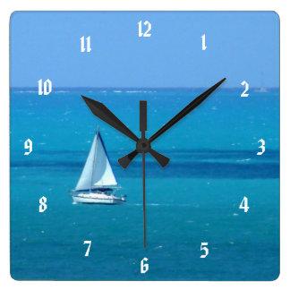 Reloj Cuadrado Navegación
