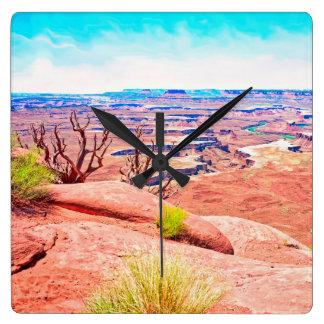 Reloj Cuadrado Opinión del desierto