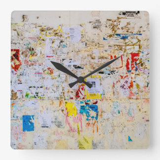 Reloj Cuadrado Pared de la calle