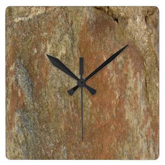 Reloj Cuadrado Piedra