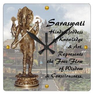 Reloj Cuadrado Saraswati